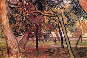 Study of Pine Trees by Vincent van Gogh
