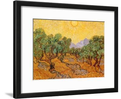 Sun over Olive Grove, 1889