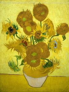 Sunflowers, 1889 by Vincent van Gogh