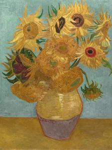 Sunflowers, c.1889 by Vincent van Gogh