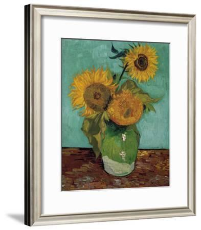 Sunflowers, First Version