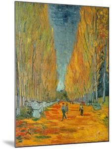 The Alyscamps, Arles, 1888 by Vincent van Gogh