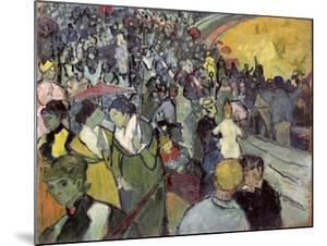 The Arena at Arles, c.1888 by Vincent van Gogh