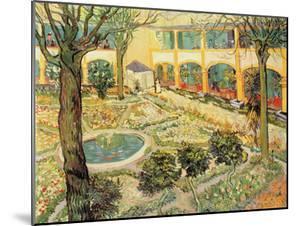 The Asylum Garden at Arles, c.1889 by Vincent van Gogh