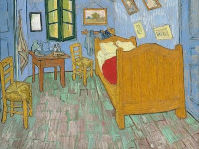 The Bedroom, 1888 by Vincent van Gogh