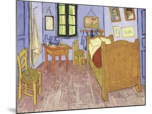 The Bedroom at Arles, c.1887 by Vincent van Gogh