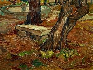 The Bench of Saint-Remy, c.1889 by Vincent van Gogh
