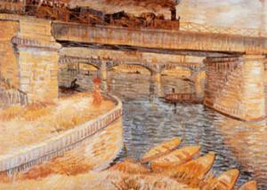 The Bridge at Asnieres by Vincent van Gogh