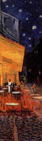 The Café Terrace on the Place du Forum, Arles, at Night, c.1888 (detail)