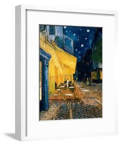 The Café Terrace on the Place du Forum, Arles, at Night, c.1888 by Vincent van Gogh