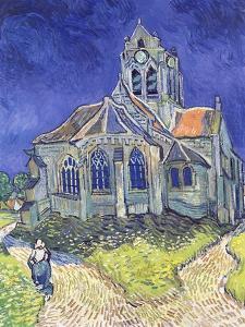 The Church at Auvers-Sur-Oise, 1890 by Vincent van Gogh