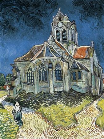 The Church at Auvers-Sur-Oise (L'Église D'Auvers-Sur-Oise, Vue Du Chevet) by Vincent van Gogh