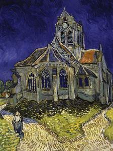 The Church in Auvers-Sur-Oise, c.1890 by Vincent van Gogh