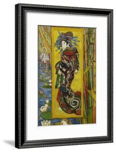 The Courtesan (After Eise), 1887 by Vincent van Gogh