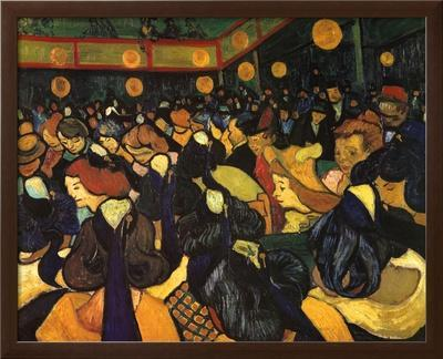 The Dance Hall at Arles, c.1888 by Vincent van Gogh