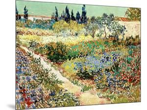 The Garden at Arles, 1888 by Vincent van Gogh