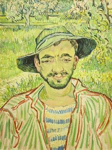 The Gardener, or Young Peasant, 1889 by Vincent van Gogh