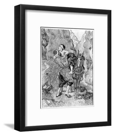 The Good Samaritan, after Delacroix, 1890
