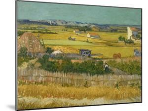 The Harvest, 1888 by Vincent van Gogh
