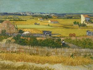 The Harvest. Arles, June 1888 by Vincent van Gogh