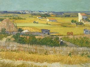 The Harvest by Vincent van Gogh