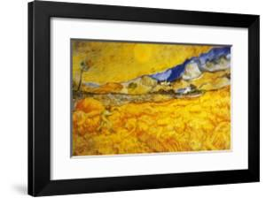 The Harvester by Vincent van Gogh