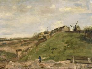 The Hill of Montmartre with Stone Quarry, 1886 by Vincent van Gogh