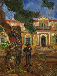 The Hospital of Saint Paul at Saint Remy de Provence, c.1889 by Vincent van Gogh