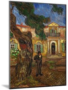 The Hospital of Saint Paul at Saint Remy de Provence, c.1889 by Vincent van Gogh