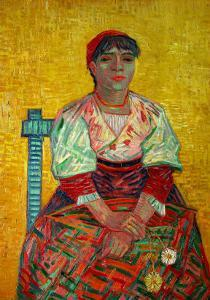 The Italian Woman (Agostina Segatori, Patron of the Cabaret, Le Tambourin), c.1887 by Vincent van Gogh