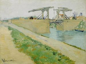 The Langlois Bridge, March 1888 by Vincent van Gogh