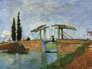 The Langlois Drawbridge by Vincent van Gogh