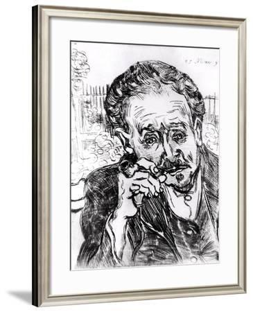 The Man with the Pipe, Portrait of Doctor Paul Gachet 15th March 1890