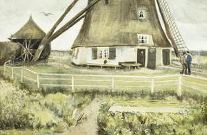 The Mill by Vincent van Gogh