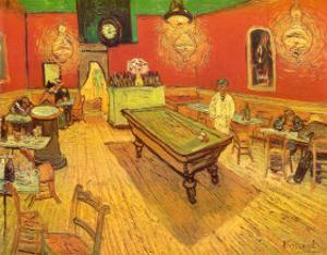 The Night Café in the Place Lamartine in Arles, c.1888 by Vincent van Gogh