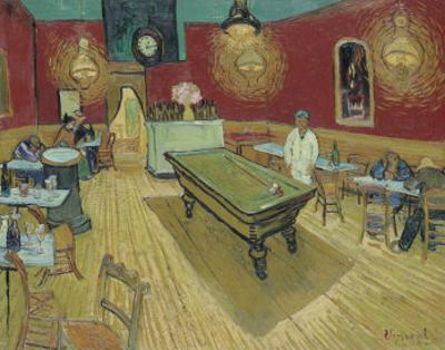 The Night Café in the Place Lamartine in Arles, c.1888