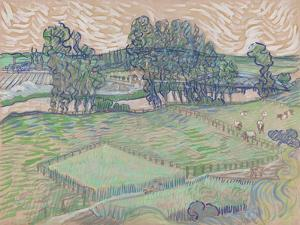 The Oise at Auvers by Vincent van Gogh