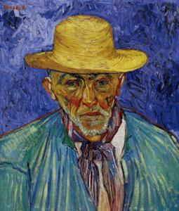 The Old Peasant Patience Escalier by Vincent van Gogh