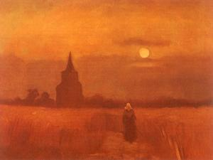 The Old Tower in the Fields, 1884 by Vincent van Gogh