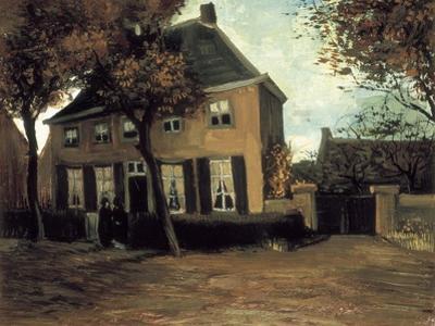 The Parish House in Nuenen by Vincent van Gogh