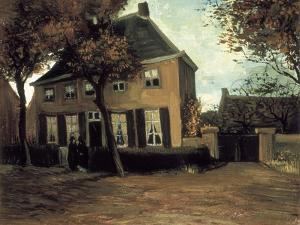 The Parish House in Nuenen by Vincent van Gogh