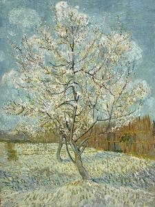 The Pink Peach Tree, 1888 by Vincent van Gogh