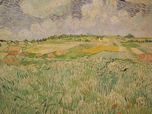 The Plain at Auvers, c.1890 by Vincent van Gogh