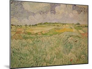 The Plain at Auvers, c.1890 by Vincent van Gogh