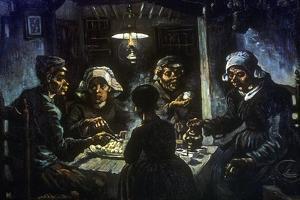 The Potato Eaters, 1885 by Vincent van Gogh