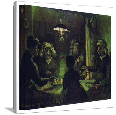 Vincent van Gogh 'The Potato Eaters' Wrapped Canvas Art-Vincent van Gogh-Gallery Wrapped Canvas