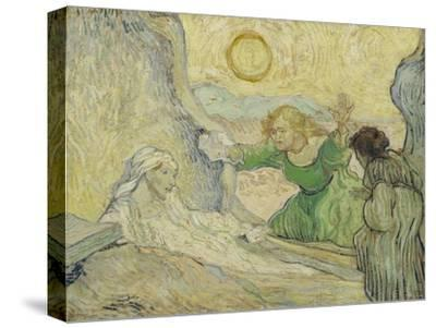 The Raising of Lazarus (After Rembrand), 1890