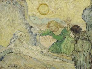 The Raising of Lazarus (After Rembrand), 1890 by Vincent van Gogh