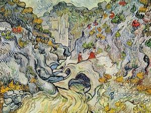 The Ravine of the Peyroulets, 1889 by Vincent van Gogh