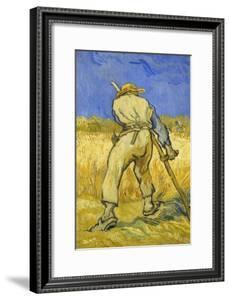 The Reaper; Le Moissonneur, 1889 by Vincent van Gogh